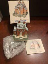 Liberty Falls Americana Collection Ah01 Liberty Falls Mayor Johnson'S Home w/Box