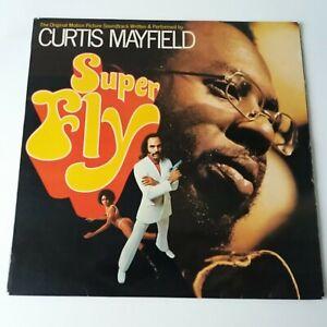 Curtis Mayfield - Super Fly Soundtrack - Vinyl LP French 1st Press Buddah EX+