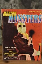 October 1966 Modern Monsters #4 Horror Magazine W/ Free Shipping
