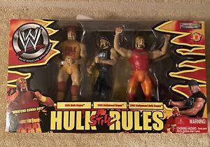 WWE Hulk Still Rules Hulk Higan 3 pack box new