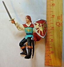 Papo Pheonix Knight Blue Red Yellow Sword Shield Collectible Action Figure 3""