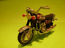 POLISTIL POLITOYS SUZUKI GT 750 - BROWN 1:18 - VERY GOOD CONDITION