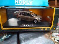 NOREV 1/43 RENAULT CLIO ESTATE BEIGE CENDRE NEUF EN BOITE