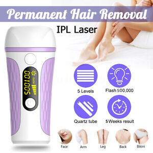 999,999 Flash IPL Laser Permanent Hair Removal Painless Face Body Skin  !