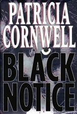Kay Scarpetta: Black Notice No. 10 by Patricia Cornwell (1999, Hardcover)
