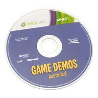Microsoft Xbox 360 Spiel - Kinect Game Demos: Just for Fun! nur CD