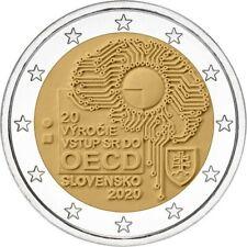 Slowakije  2020 - 2 euro - 20 jaar lid OESO - UNC