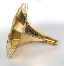 Movie Prop Brass Gramaphone Gramophone Horn for Pendant Light Part RCA Victor