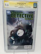 Detective Comics #872 CGC 9.6 SS by Francavilla and Synder DC Comics NM+ (2011)