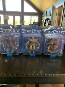 Starcraft Action Figures Series One Complete Set
