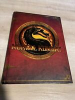 Mortal Kombat Kollector's Edition Book Prima Games Exclusive Art Guides Designs,