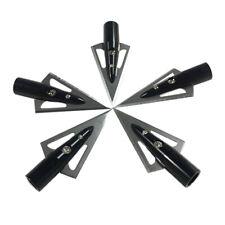 12X Aluminum Arrow 6.2mm Inserts Base for Broadhead Archery Arrows Practice VQ