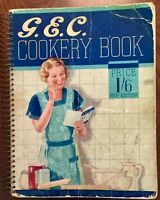 'G.E.C. COOKERY BOOK' : New Edition : revised June 1936 : Illustrated : RECIPES.