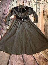 Diamond L Vintage Women's Western Wear Square Dance Rodeo Dress Size 13/14