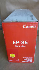 Canon 6827A004AA, EP-86 YELLOW TONER GENUINE