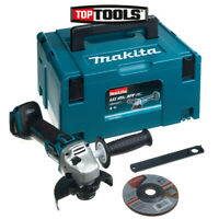 Makita DGA506ZJ 18V Li-Ion Cordless Brushless Angle Grinder 125mm Body With Case