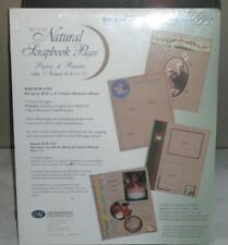 New listing Creative Memories 8.5 x 11 Natural Scrapbook Pages 15 sheets/30 pages New