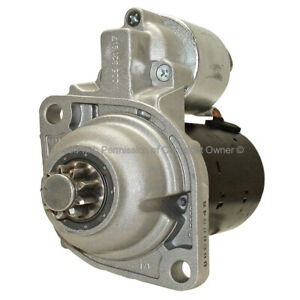 Remanufactured Starter  Quality-Built  12418