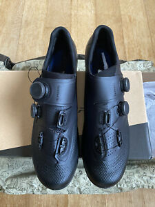 NEW Shimano SH-RC902 S-Phyre Bike Shoes black (Shoe size EU 48)