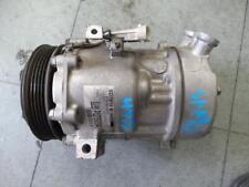 SAAB 9 3 10/02-10/07 A/C COMPRESSOR P/N SANDEN SD7V16 GM P12759394