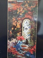 ENTICING Cross Stitch Pattern Chart ONLY L403 - Marty Bell ARCHED DOOR GARDEN