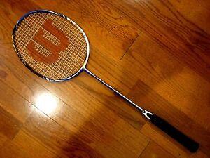 Wilson BLX Force Badminton Racquet - Brand New!