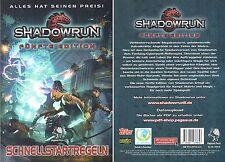 Shadowrun-FÜNFTE EDITION 5.0-Schnellstartregeln-Rollenspiel-Rarität für Sammler
