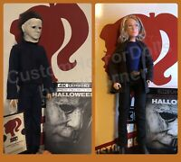 New HALLOWEEN 2018 Michael Myers & Laurie Strode CUSTOM HORROR DOLLS Set OOAK