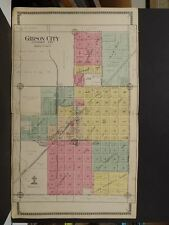 Illinois, Ford County Map, 1916, Gibson City, Double Page, J11#82