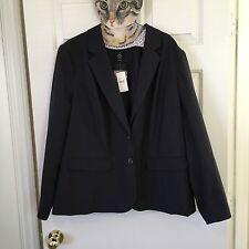 Women's Lane Bryant Blazer Plus 26 NWT Career Pin Striped Nice Work Wear Office