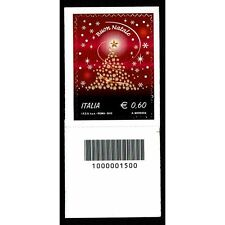 REP0343 - 2012 Natale Laico Codice a Barre DX