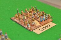 15mm marlburian / scots - jacobite highlanders c.1680 25 figs - inf (55337)