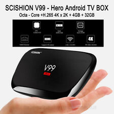 V99 Hero TV Box 4GB+32GB RK3368 Octa-Core 4K Media Player Dual Wifi Android 5.0