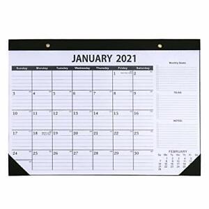 Dizdkizd 2021-2022 Desk Calendar, Large Monthly Desktop Calendars with Julian