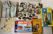 B65- Mixed HO Scale Lot Of Scenery, Bridges, Trestles, People, Signs