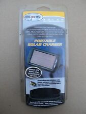 New listing Nos Brunton Portable Solar Aa NiMh and NiCad Battery Charger