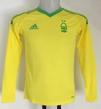 NOTTINGHAM FOREST 2016/17 L/S AWAY KEEPERS SHIRT BY ADIDAS SIZE BOYS 13-14 YEARS