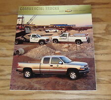 Original 2000 Chevrolet Commercial Truck Sales Brochure 00 Chevy