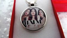 HAIM  PHOTO PENDANT NECKLACE DANCE POP MUSIC GIFT BOXED 22 INCH SILVER CHAIN