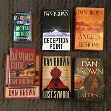 Near Complete Dan Brown Novels ~ DaVinci Code, Angels & Demons, etcetera