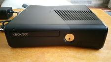 Microsoft Xbox 360 S Console 4GB in Matte Black Model 1439 - Very Good Condition