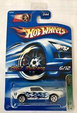 Hotwheels 1967 Mustang Treasure Hunt Super Mint Long Card