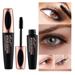 4D Silk Mascara Eyelash Waterproof Extension Volume Long Lasting Lashes UK