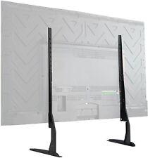 VIVO Universal LCD Flat Screen TV Table Top VESA Mount Stand Black | Base fits