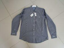 Nautica Men's Regular Fit Blue Stripe Long Sleeve Casual Shirt  Size 2XL