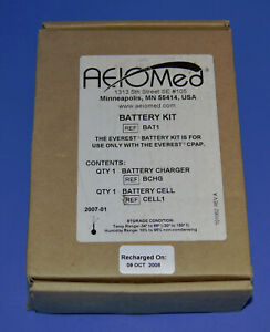 AEIOMed Everest CPAP Machine BAT1 with CELL1 Rechargeable Battery Pack with Cell