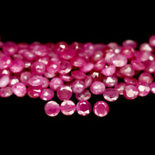 12.04 Carats 100pcs 2.8MM Natural Reddish Pink RUBY for Jewelry Setting