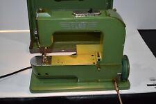 New ListingElna Grasshopper Model 50 Vintage Portable Sewing Machine 1950's Tested Working