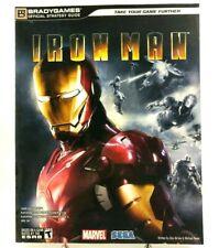 Iron Man Bradygames Strategy Game Guide Nintendo Wii Playstation 2 3 Xbox 360