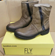 Fly London Womens / Ladies Ankle Boots Nuke Glade (BROWN) - Sizes: 4/5/7